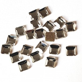 JS vierkant 4*4mm Crystal