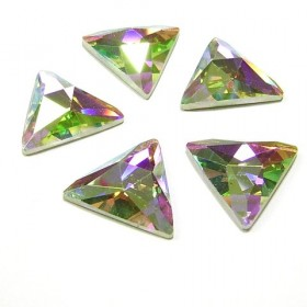 DMC Glue On Triangle 16mm Crystal AB