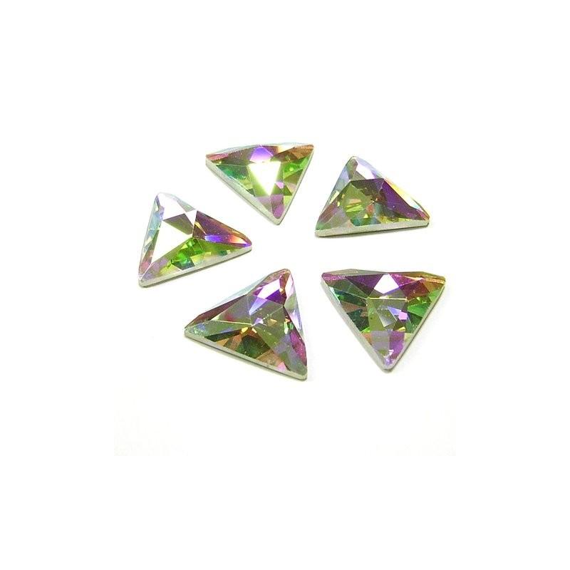 DMC Glue On Triangle 16mm Crystal AB
