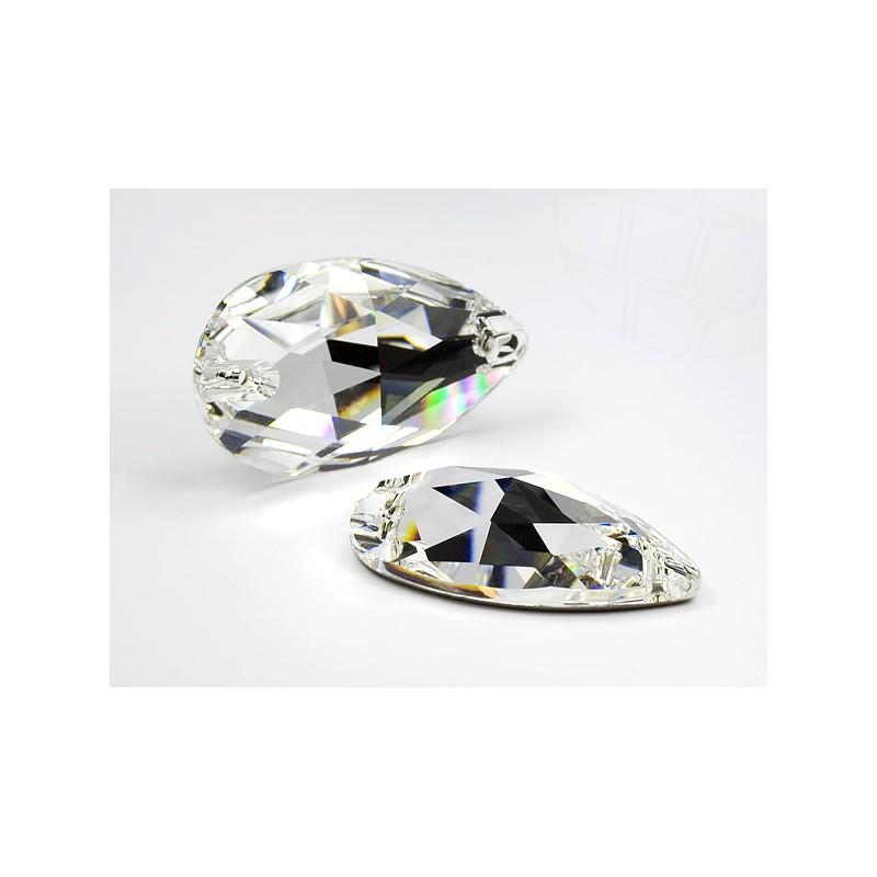 DMC Sew On drop 17x28mm Crystal