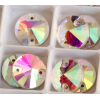 DMC Sew On rond 10mm Crystal AB