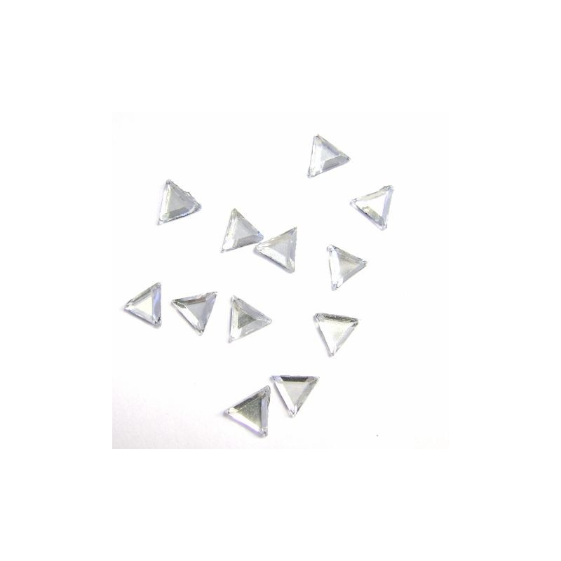 RS Triangle 5x5mm Crystal