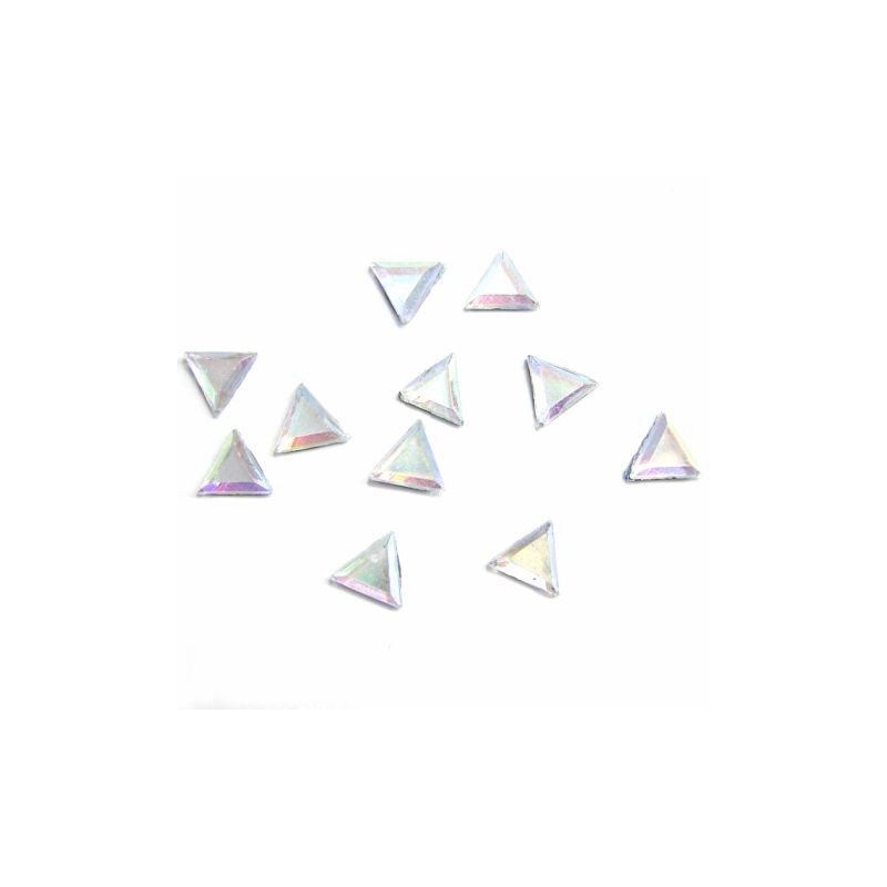 RS Triangle 5x5mm Crystal AB