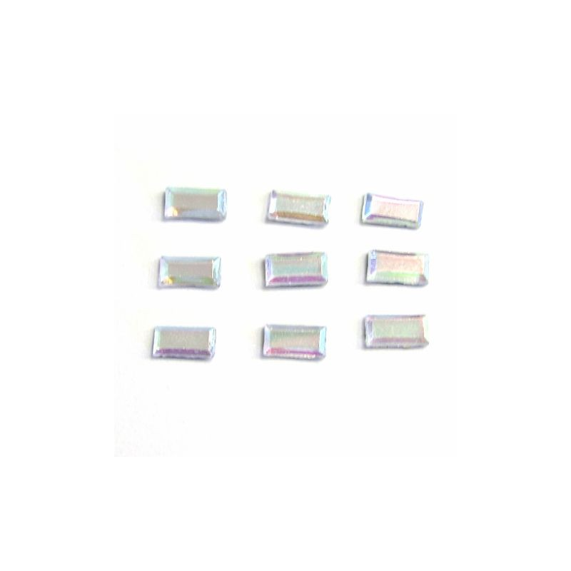 RS Rectangle 3x7mm Crystal AB