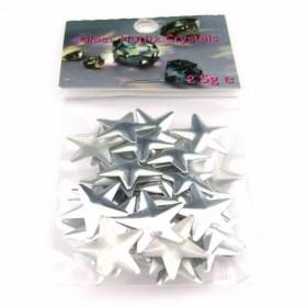 Star 14x14mm Silver
