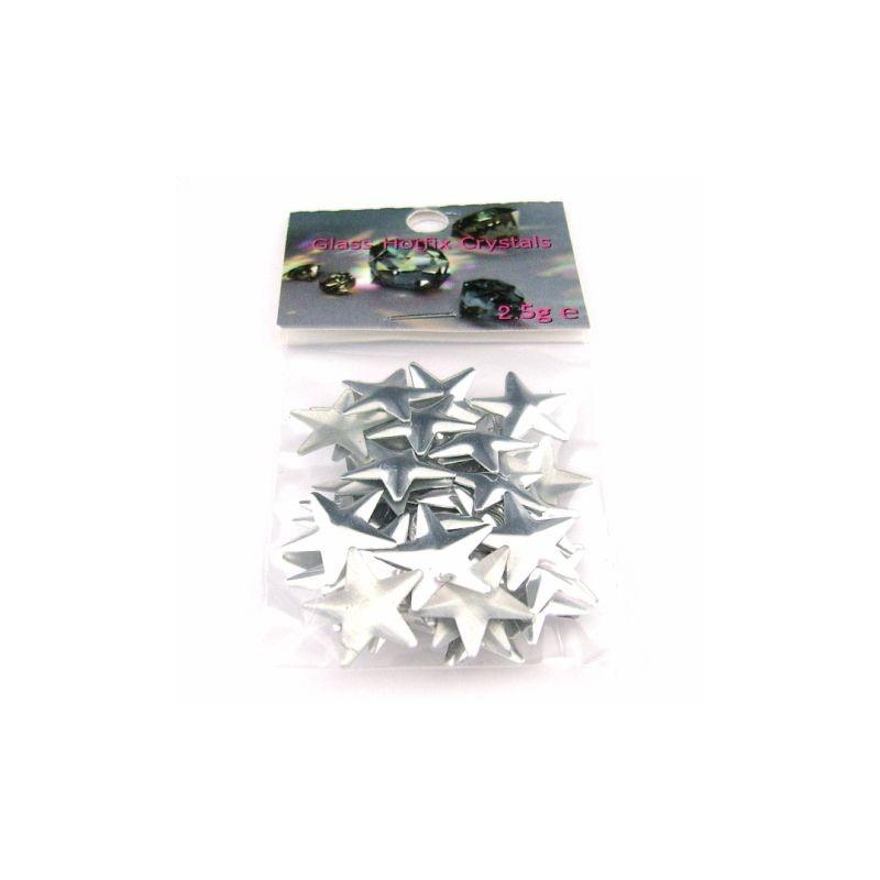 Star 10x10mm Silver